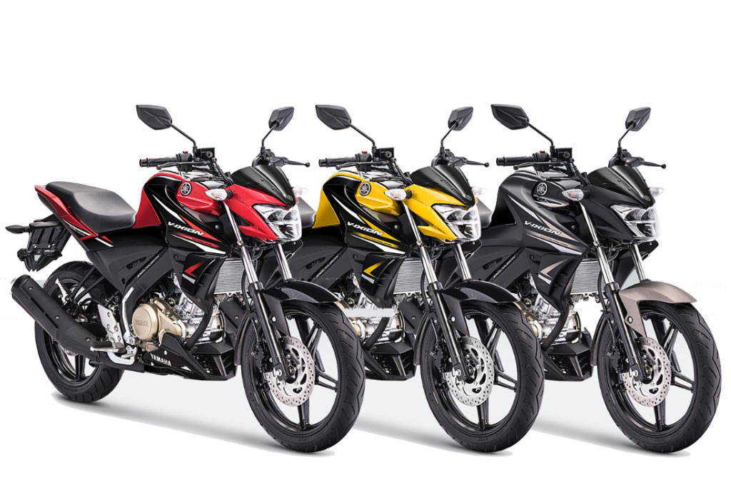 Yamaha All New Vxion 2019