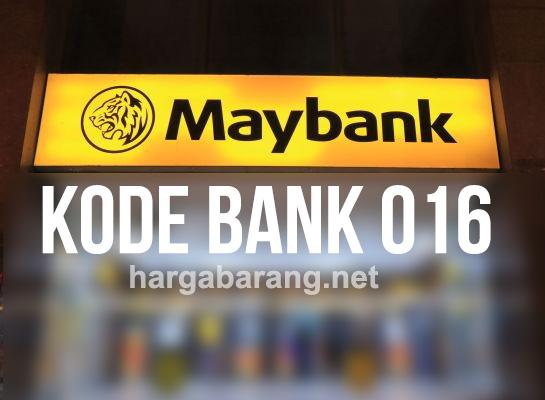 kode maybank